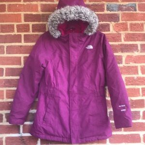 North Face Down Puffer 550 hyvent jacket/parka